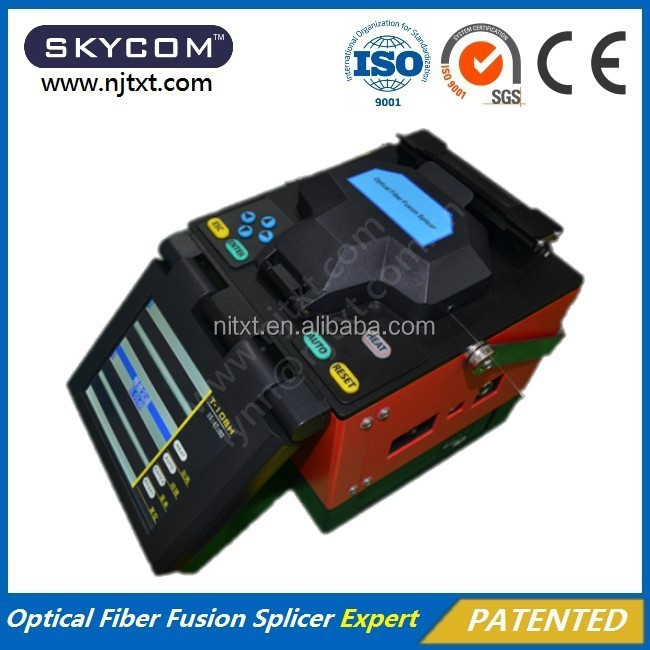 Original Manufacturer Skycom T-108h Fiber Optic Splicing Machine ...