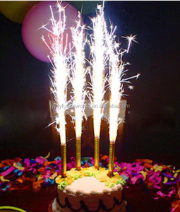 hot sale cold fireworks birthday candle