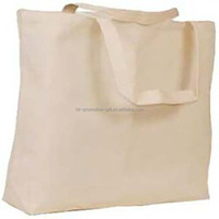 Custom large plain cotton organic cotton bag made in China wholesale blank organic cotton canvas grocery tote shopping bag