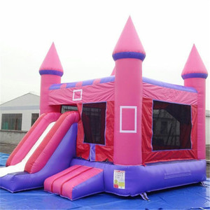 China Commercial Inflatable Bouncing Castle For Kids,Jumping Small Princess Slide Combo Inflatable Bouncer