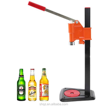 Home brewing manual bench bottle capper