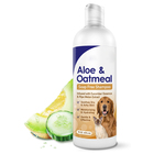 Wholesale OEM private anti bacterial good cleaning pet organic pet shampoo for dogs and cats