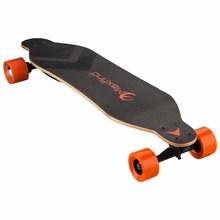 Maxfind off road 36v*2.2ah lithium battery Canada maple 4 wheels long board boosted style electric deck skateboard
