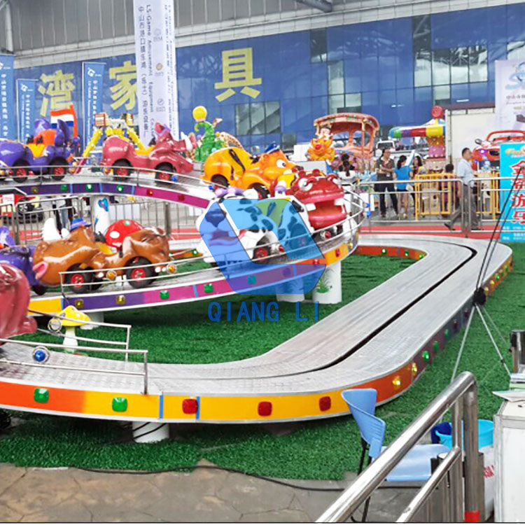 Indoor en outdoor kids roller coaster type Mini Shuttle ritten voor verkoop