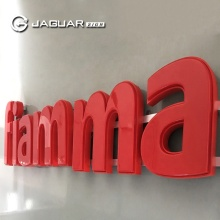 Manufacturer Custom UL Red Led Vacuum Formed 3D Acrylic Letter Sign