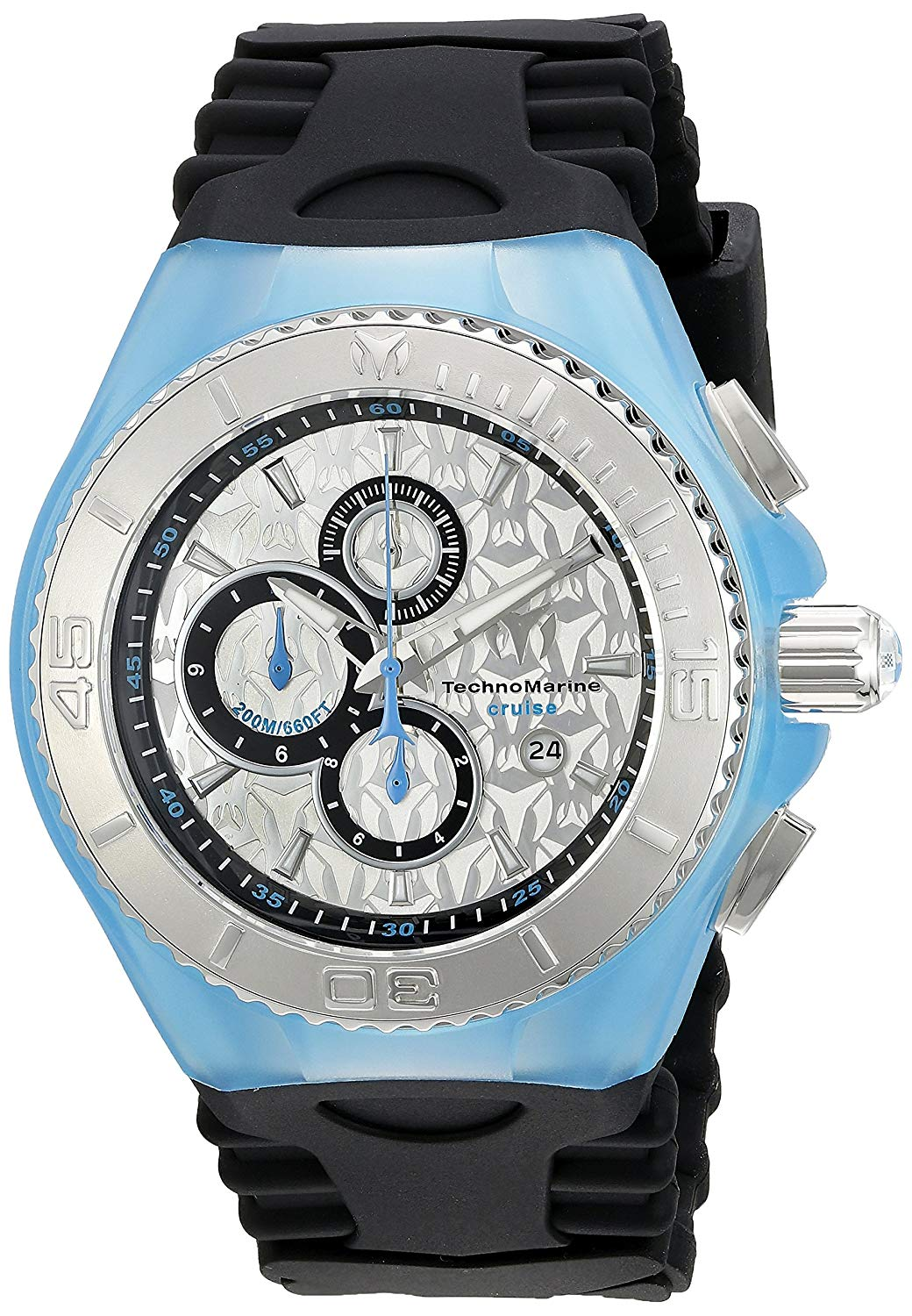 Technomarine Men's TM-115192 Cruise Jellyfish Analog Display Quartz Black Watch
