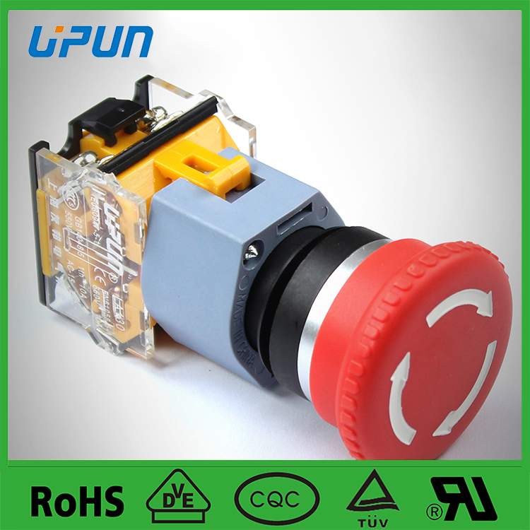 UPUN buttons, switch push button emergency stop
