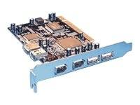 USB2.0 + FireWire PCI Card, 4+2 Port - USB / FireWire-Adapter - PCI