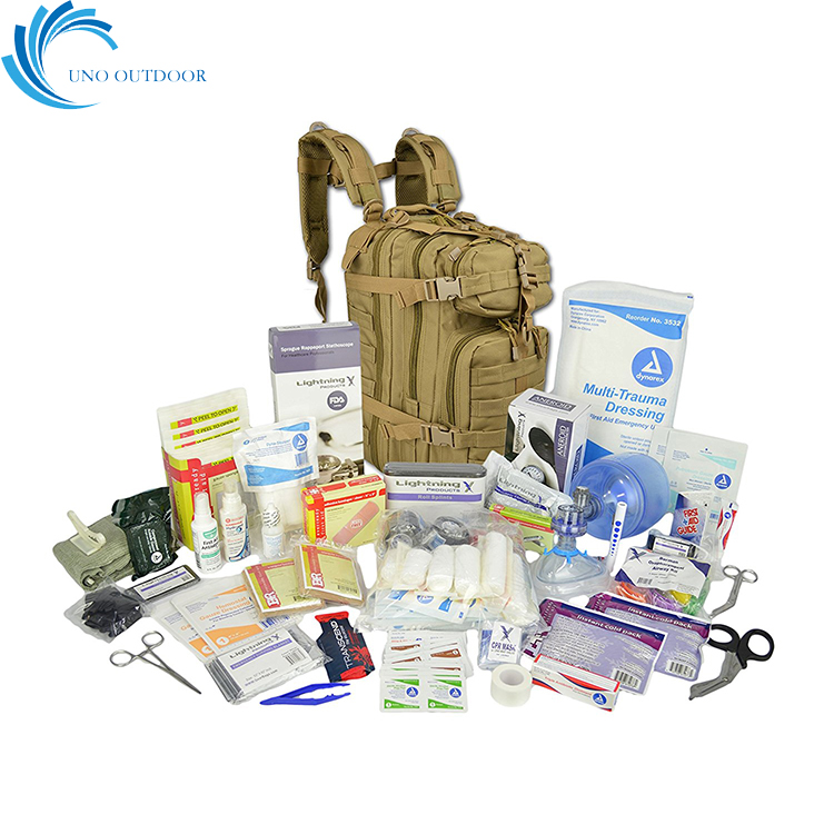 UNO outdoor customize available traveling hiking camping military medical first aid kit