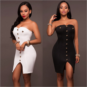 2017 speed sell Amazon explosion, Europe and America sexy women's bandage, dress, nightclub wrapped skirt