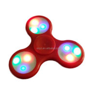 No.1 Sales!!! LED light flash new design Aliminum alloy Fidget led hand spinner