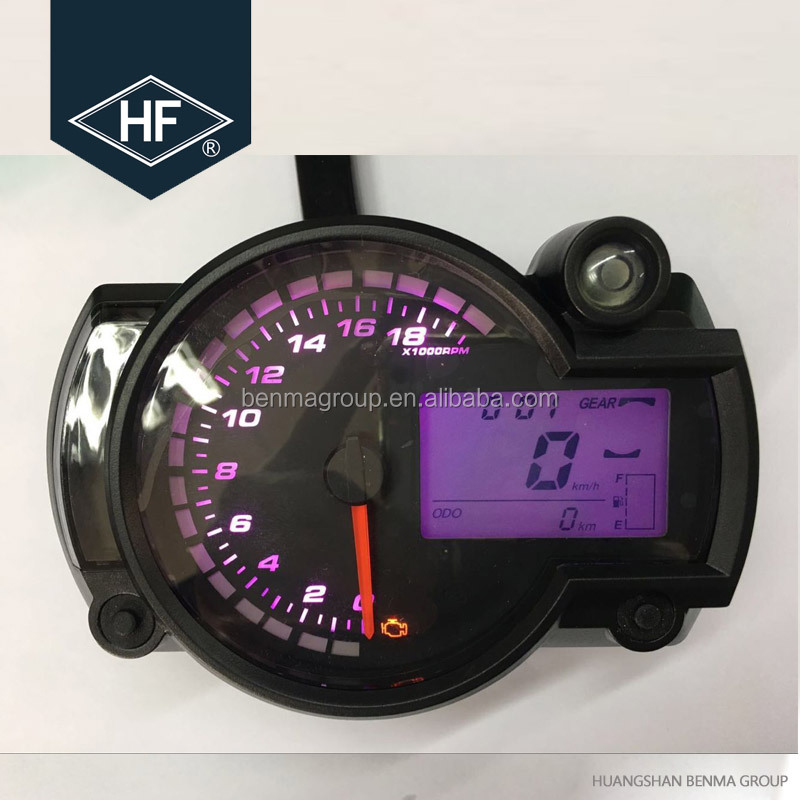 Top Quality Universal Motorcycle Speedometer With Digital