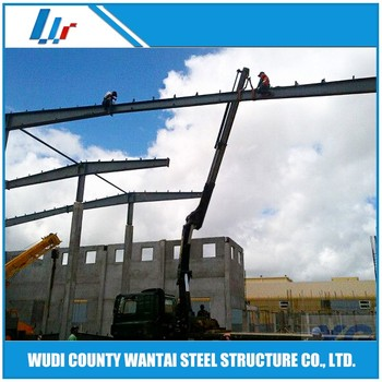 Agricultural Prefabricated Steel Frame Overhead Crane Workshop - Buy ...