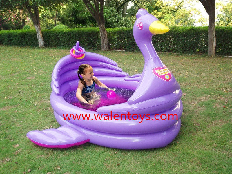 Inflatable Kids Swimming Pool Water Fun Family Outdoor Summer Play ...