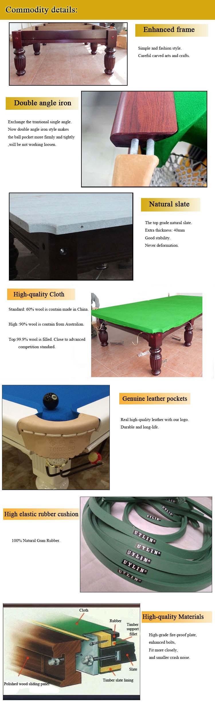 Professional Design TB CS081 Custom Pool Table Covers