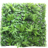 Customized artificial plant wall vertical grass wall outdoor decorative green wall high simulated anti-UV factory direct sale