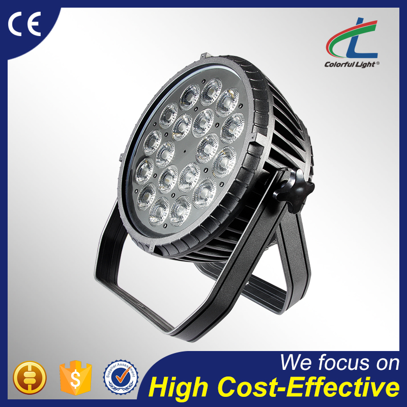 cheap price outdoor disco 5 in 1 RGBWA 18x15 zoom led par