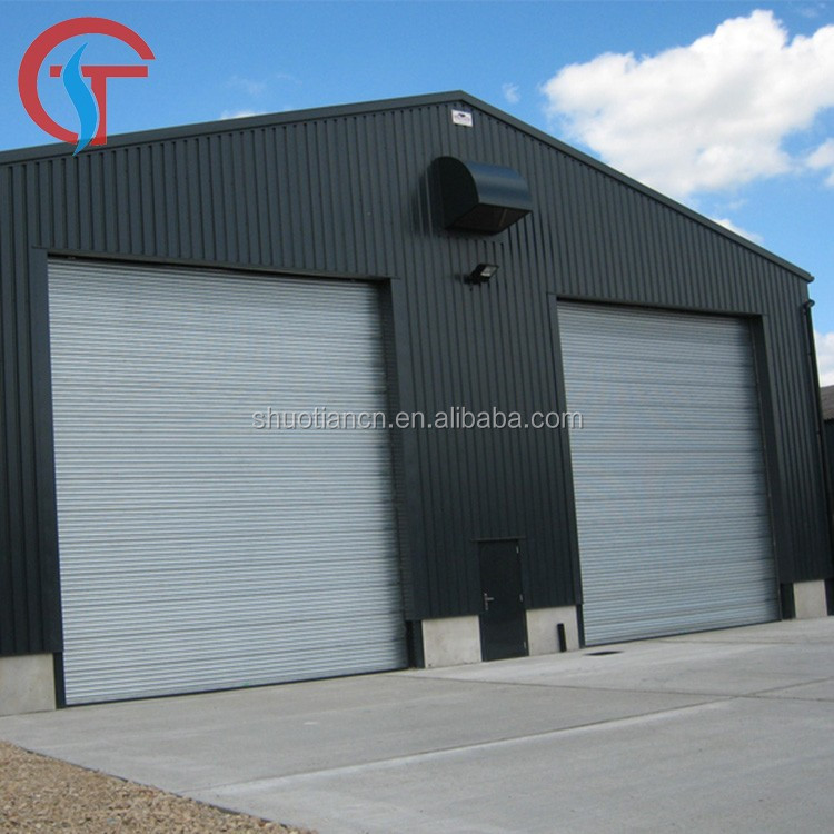 Warehouse industrial automatic rolling <strong>door</strong> , galvanized automatic steel rolling shutter <strong>door</strong>