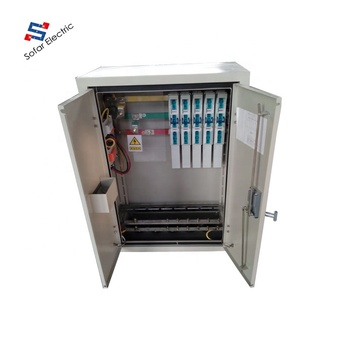 fuse distribution box main switch ip54 outdoor mccb electrical main switch distribution panel board  ip54 outdoor mccb electrical main