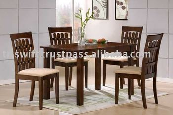 Wooden Dining Set Chair Malaysia Rubber Wood Table