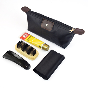 Shoes cleaning set for genuine leather shoes and boot IKSP007