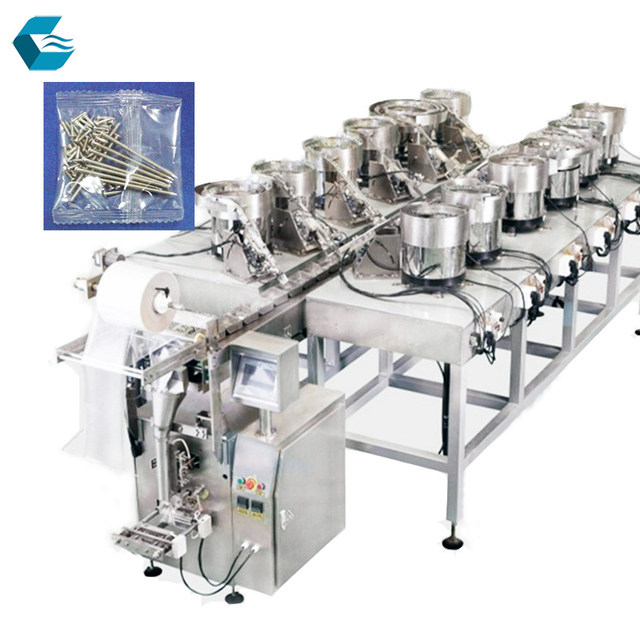 Automatic screw spare parts counting packing machine