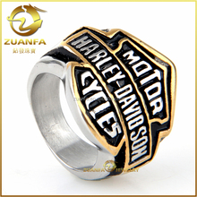 wholesale MOTOR CYCLES fashion casual biker men ring vintage friendship ring