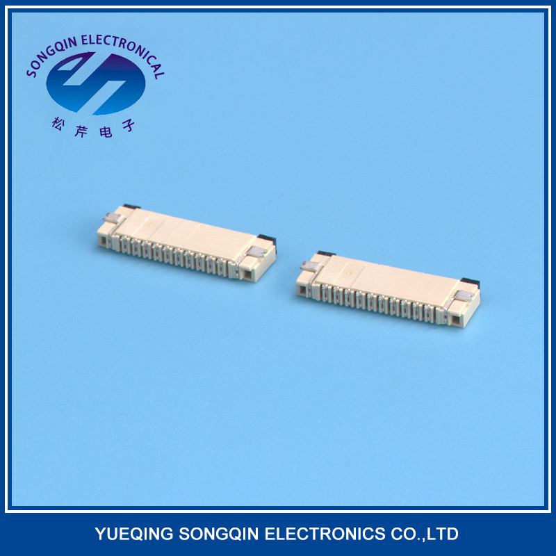 New design side entry type board to fpc connector 51 pin