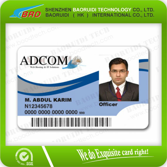 identification card design