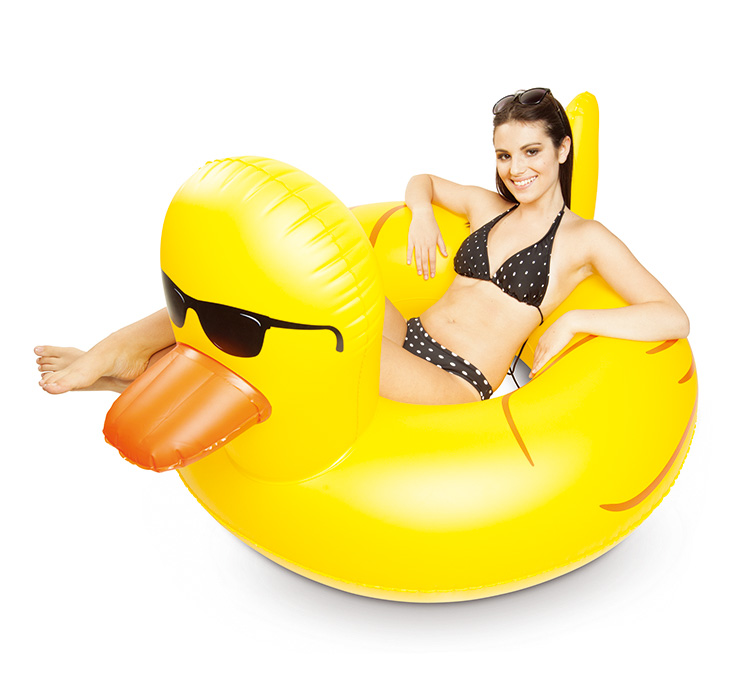Schwere Aufblasbare Gummi Duckie Pool Float Kunststoff Aufblasbare ...