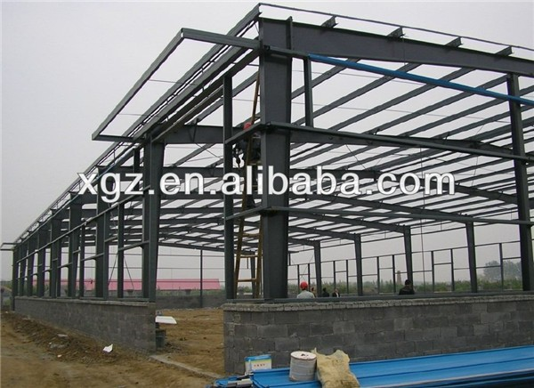 light prefabricated metal building shed