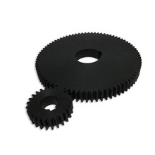 MMS Customized factory plastic injection molding POM actuactor helical Gears
