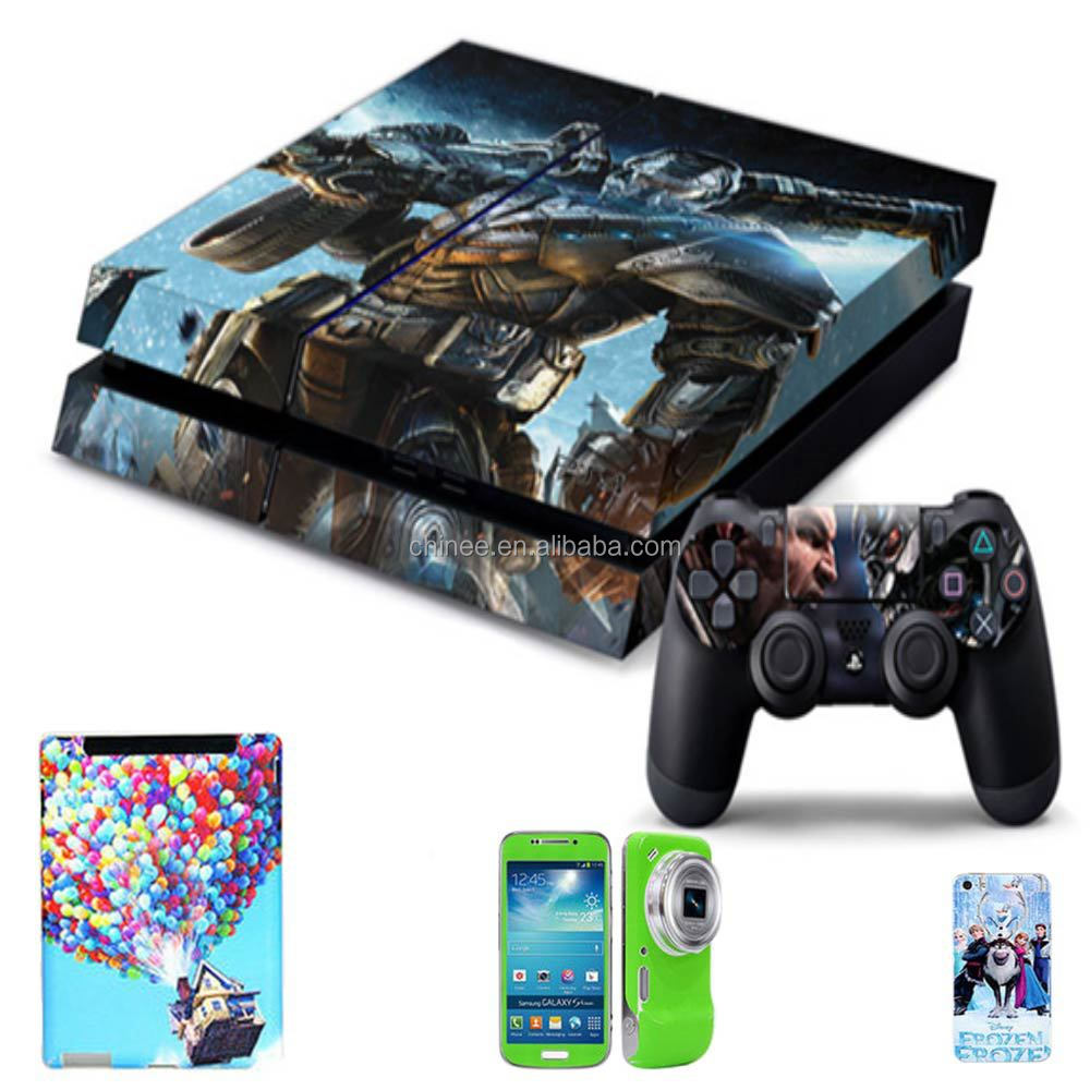 Making customized wholesale ps4 games skin stiker