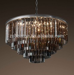 Factory price hot sale low price New design 3 lights iron cage chandelier pendant lights for dining room