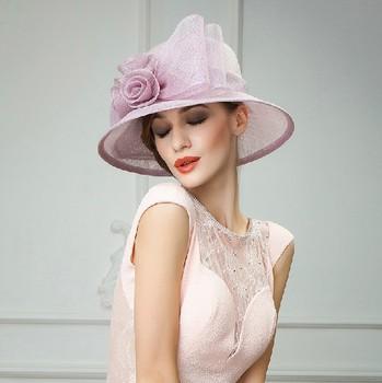 China Wholesale 100% Sinamay Elegant Church Hats For Ladies With Flower -  Buy Elegant Church Hats For Ladies,Elegant Church Hats For Ladies,Elegant