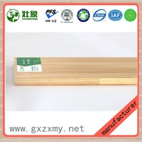 Natural Chinese Fir Core White Melamine Faced Eco Board For Office Furniture