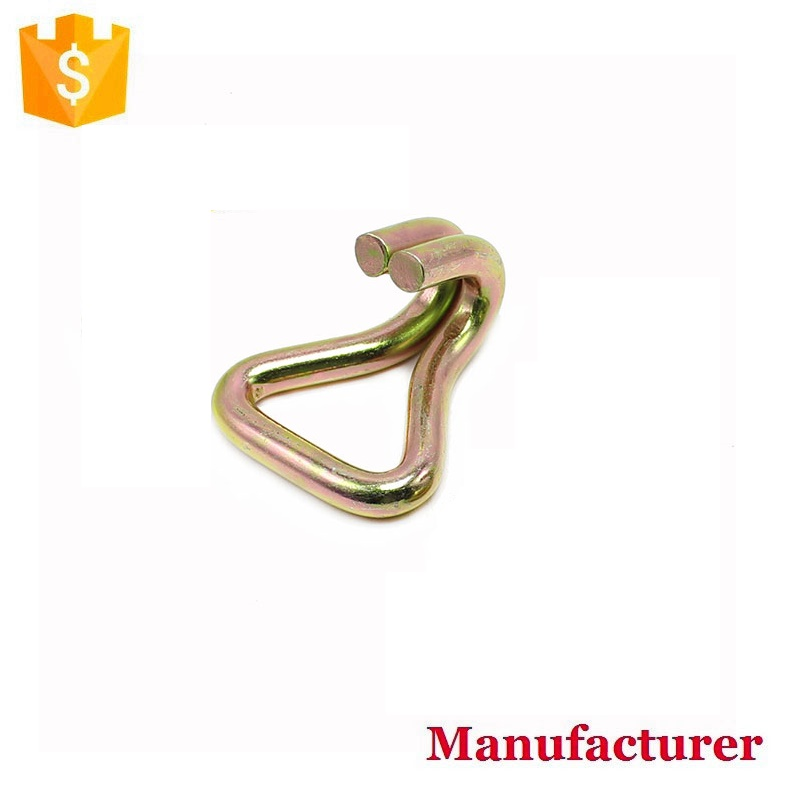 1 inch 1.5 inch 2 inch double J wire hook for ratchet buckle