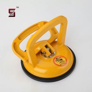 Micro adjustable single cap glass suction cup lifter