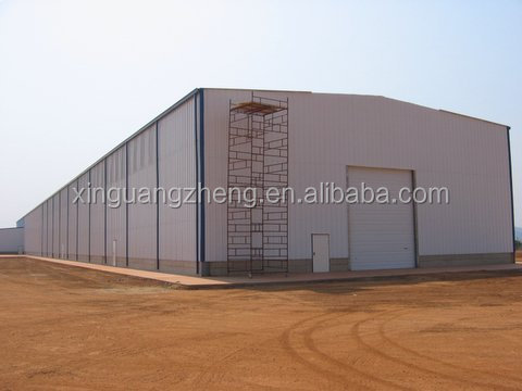 Prefabricated steel structure workshop/warehouse/plant