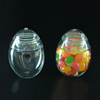 Most popular egg shaped plastic christmas candy jars