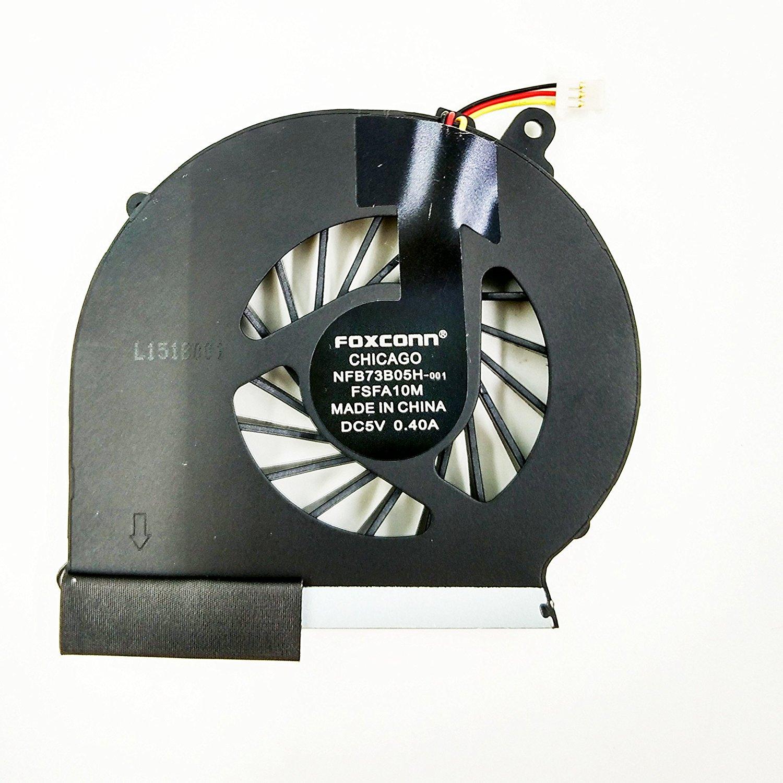 New Laptop CPU Cooling fan for HP Compaq G43 CQ43 G57 CQ57 430 431 435 436 CQ57-210US CQ57-212NR CQ57-217NR CQ57-229WM CQ57-315NR CQ57-319WM CQ57-386NR CQ57-410US 647318-001 FS551005M30T NFB73B05H-001