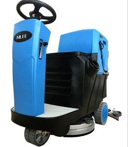 MLEE740MINI Tile Timber Floor Brushing Machine Efficient CE Rubber Factory Epoxy Gym Floor Cleaning Machine