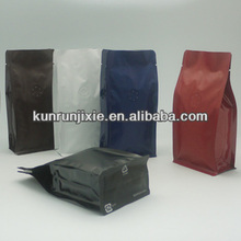 2 lines bottom pouch bag making machine,coffee 3 in 1, laminated coffee bag.