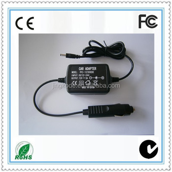Low Price 12v 3a Car Adapter Charger Wall Plug 230v Euro