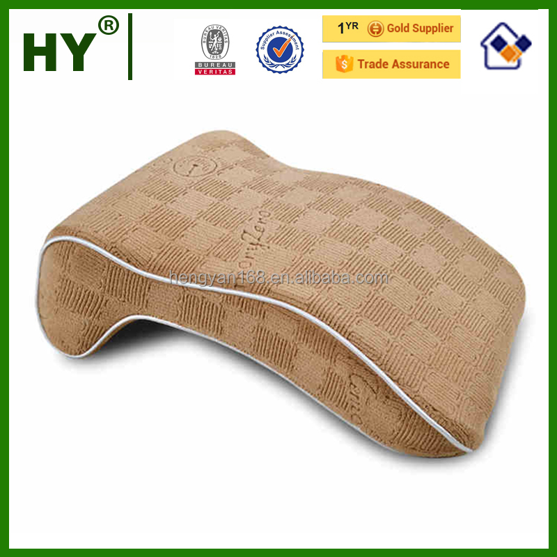 OEM decorative cotton pillow covers mid-soft bamboo carbon memory foam snap pillow