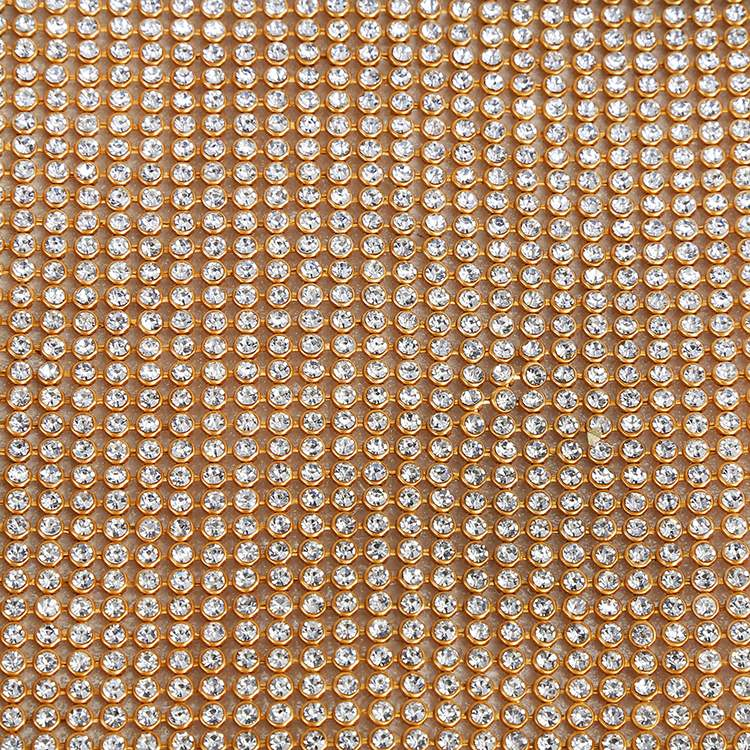 New product different types mesh fabric rhinestone for sashes manufacturer sale