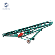 Mobile flat belt conveyor price with large capacity
