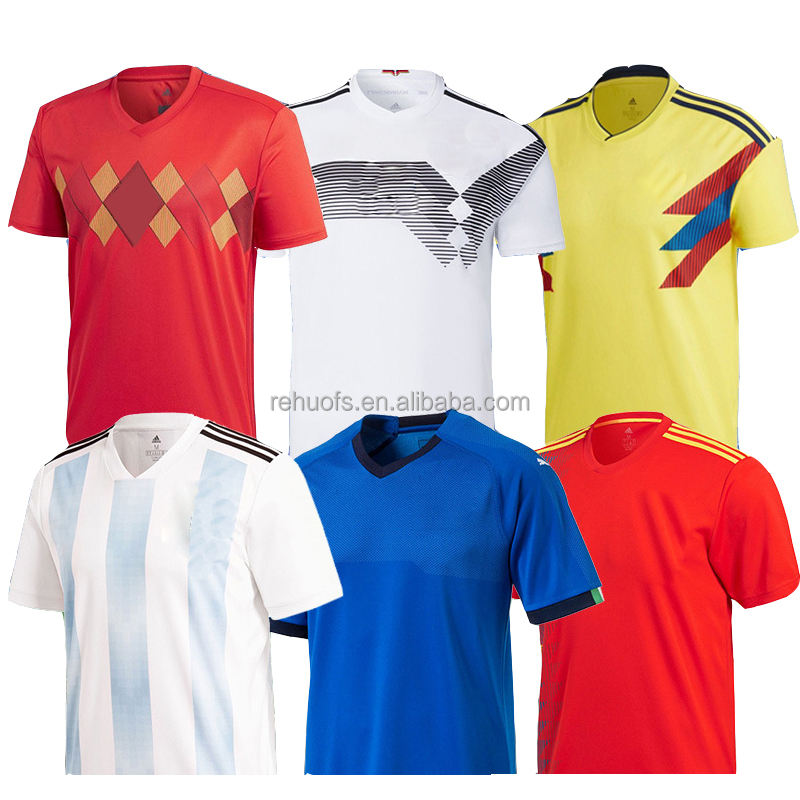 2018 World Cup custom football shirt soccer jerseys