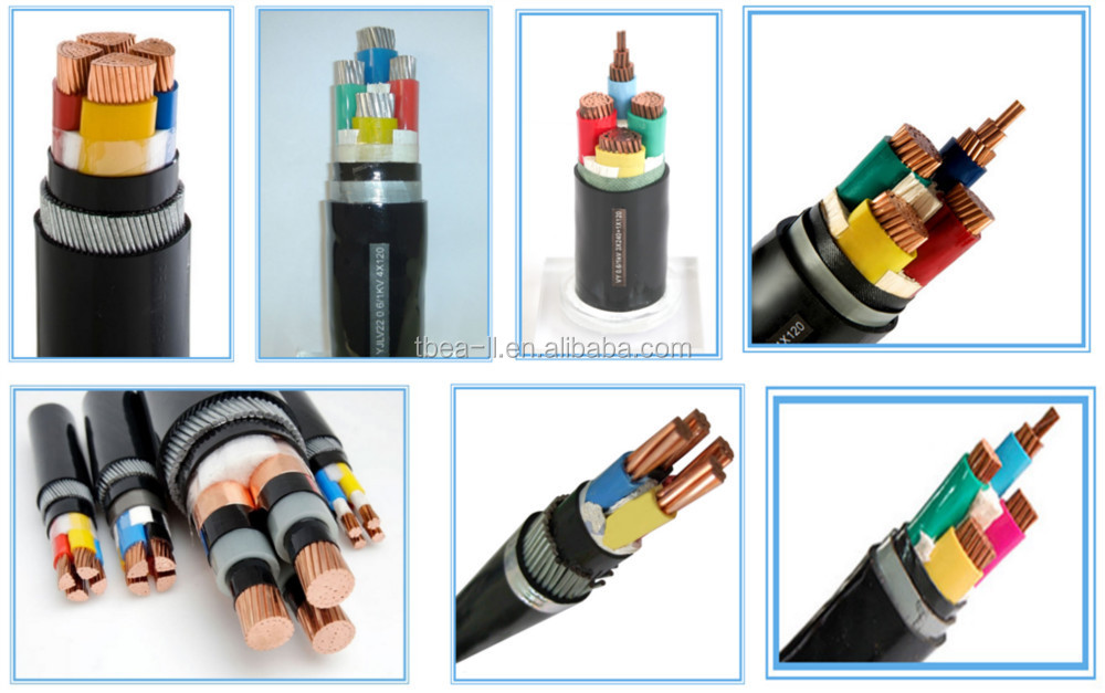 Underground Cable Steel Wire/type Armoured Copper Power Cable ...