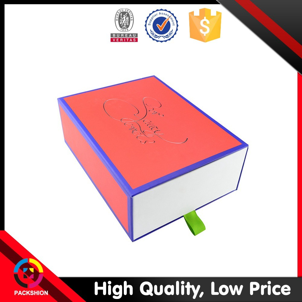 Baby Gift Box Empty : Dongguan factory sleeve drawer empty gift box for baby